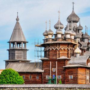 Kizhi Island City Russia