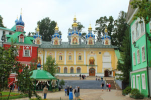 Pskov and Pechory City Russia