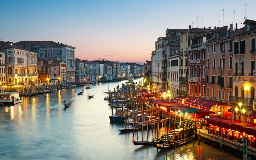 Top ten best travel places in Venice