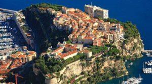 Monaco-Ville also known as Le Rocher